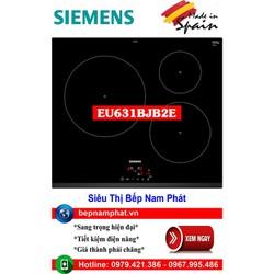 Bếp từ 3 vùng nấu cao cấp Siemens EU631BJB2E nhập khẩu Tây Ban Nha