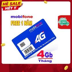 [ SIÊU SALE ] Sim 4G Mobifone MDT250A trọn gói miễn phí không phải nạp tiền