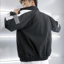 Áo khoác dù nam nữ phản quang form 70kg bận thoải mái dù 2 lớp
