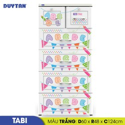 Tủ nhựa Duy Tân Tabi - 5 tầng 6 ngăn - Nhiều màu