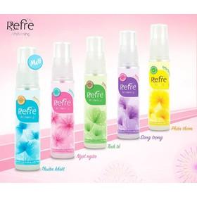 Xịt khử mùi hương nước hoa Mentholatum Refre 30ml - Xịt khử mùi hương nước hoa Mentholatum Refre