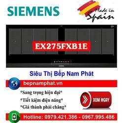 Bếp từ 2 vùng nấu cao cấp Siemens EX275FXB1E nhập khẩu Tây Ban Nha