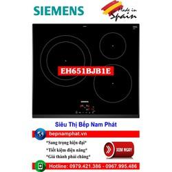 Bếp từ 3 vùng nấu cao cấp Siemens EH651BJB1E nhập khẩu Tây Ban Nha