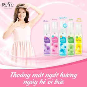 Xịt khử mùi hương nước hoa Mentholatum Refre 30ml - Xịt khử mùi hương nước hoa Mentholatum Refre-3