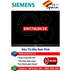 Bếp từ 3 vùng nấu cao cấp Siemens EH775LDC1E 5 mức chiên , xào, rán nhập khẩu Tây Ban Nha