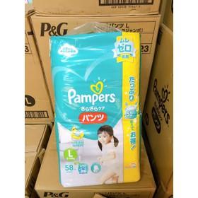(JUMBO) Tã quần/ dán PAMPER NỘI ĐỊA NHẬT : Nb114- S102- M80/74- L68/58- XL50- XXL32 - pamper jumbo