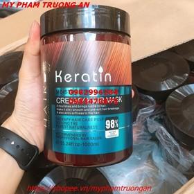 Kem ủ tóc keratin mẫu mới 1000ml và mũ ủ tóc - KM-12