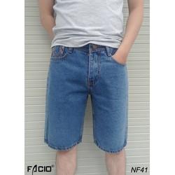 quần jean nam ngắn vải dày bền đẹp cho khác hàng