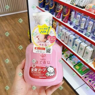 Sữa tắm gội Arau Baby 450ml Nhật - SỮA TẮM BABY ARAU - AN TOÀN CHO LÀN DA BÉ YÊU thumbnail