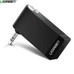 Thiết bị nhận âm thanh Bluetooth có Micro hỗ trợ APTX Ugreen 40757 BT 4.2 màu Đen MM114