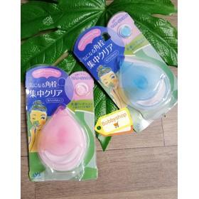 Miếng silicon rửa và massage mặt siêu bền dáng giọt nước - ruamat