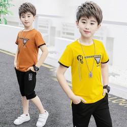 [KHÔNG ĐẸP TRẢ LẠI TIỀN] Bộ bé trai N phong cách lịch lãm cho bé từ 18-40kg