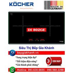 Bếp từ đôi Kocher DI 802GE nhập khẩu Đức