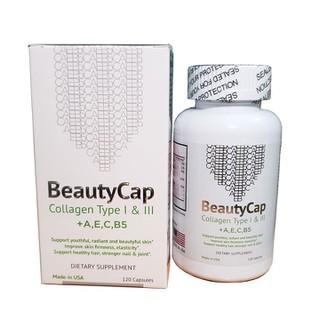 Viên uống bổ sung Collagen Vitamin AEC B5 BeautyCap giúp làm đẹp da chống lão hoá - beautycap1 thumbnail