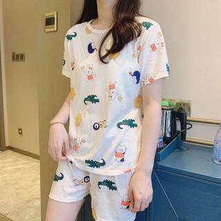 Bộ đồ nữ ở nhà-set bộ quần áo nữ rộng - BDNCS-1 thumbnail