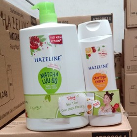 Sữa Tắm Hazeline 1,2kg tặng - STHL1.2K