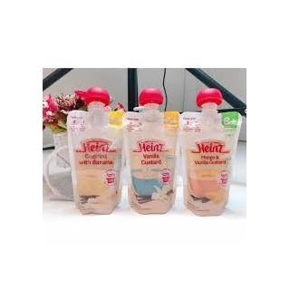 Váng sữa hoa quả nghiền HEINZ của Úc - Túi 120g cho trẻ 6 tháng thumbnail