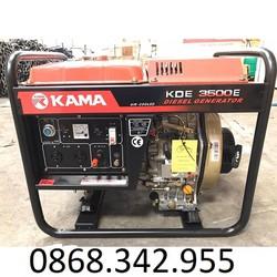 Máy Phát Điện Chạy Dầu 3Kw Kama 3500E