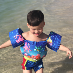Phao bơi trẻ em-Phao bơi đeo vòng tay và bụng cho bé 206707