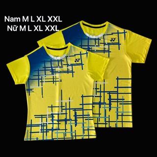 Áo cầu lông Yonex 2020 Nam Nữ Vàng AT12 - 130 thumbnail