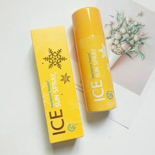 Xịt chống nắng Ice Spray Mersenne Beauty SPF50 PA+++Hàn Quốc 100ml - XCNM100V thumbnail