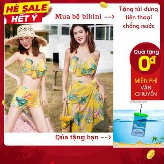 Mua Bộ bikini TẶNG NGAY túi đựng điện thoại chống nước - 0019 thumbnail