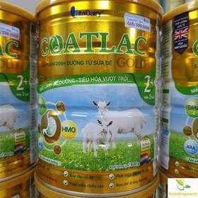 Sữa Dê Goatlac Gold 2 800g trẻ từ 6 – 12 thángMẫu mới Date T4.2022 - Sữa Dê Goatlac Gold 2 800g trẻ từ 6 – 12 thán