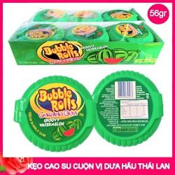 Kẹo Cao Su Cuộn Bubble Rolls Thái Lan Dư hấu 1 cuộn