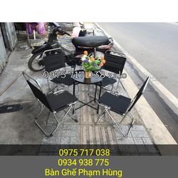 bàn ghế cafe vĩ hè giá rẻ