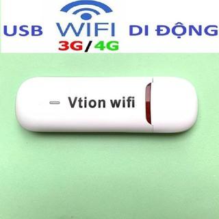 Bộ Phát Sóng Wifi 3G 4G - Usb Vtion Phát Sóng Wifi - usb vtion-Tốc Độ Tàu Điện thumbnail