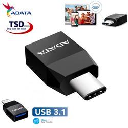 Đầu Chuyển OTG Type C Sang USB 3.1 Chính Hãng ADATA