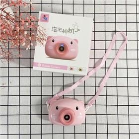Máy thổi bong bóng heo hồng - Máy phun bong bóng - MTB001-2