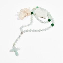 Dây Chuyền Đá Thiên Nhiên Thánh Giá - Ngọc Quý Gemstones