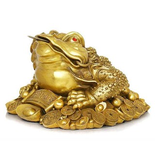 Thiềm Thừ Tài Lộc Đồng Vàng - TTDV11 thumbnail