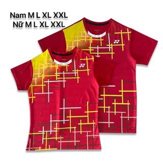 Áo cầu lông Yonex 2020 Nam Nữ Đỏ AT12 - 129 thumbnail