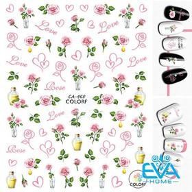 Miếng Dán Móng Tay 3D Nail Sticker Tráng Trí Hoạ Tiết Bông Hoa CA468 - 0010002481
