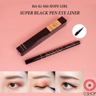 Bút Kẻ Mắt Nước HOPE GIRL SUPER BLACK PEN EYE LINER - CSHOP - CS0265 thumbnail