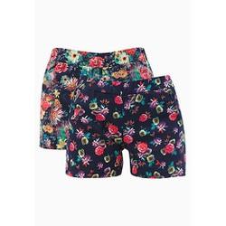 Quần sort nữ hoa lá có túi size S, M, L, XL,