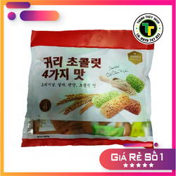 Bánh yến mạch Hàn Quốc đủ vị cực ngon siêu bổ dưỡng loại 380g