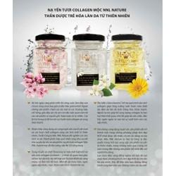 Nạ yến collagen cánh hoa tươi : Dưỡng da căng mịn, trắng hồng khỏe mạnh và se nhỏ lỗ chân lông.