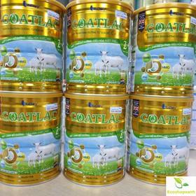 Thùng 6 lon _ Sữa Dê Goatlac Gold 2 800g trẻ từ 6 – 12 tháng Date mới nhất T4.2022 - Thùng 6 lon _ Sữa Dê Goatlac Gold 2 800g trẻ