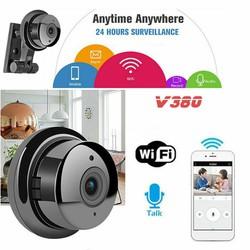 Camera WIFI V380 - Kết nối Điện thoại, Hồng ngoại quay đêm