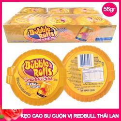 Kẹo Cao Su Cuộn Bubble Rolls Thái Lan vị Redbull - 1 cuộn