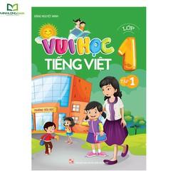 Sách: Vui Học Tiếng Việt Lớp 1 Tập 1