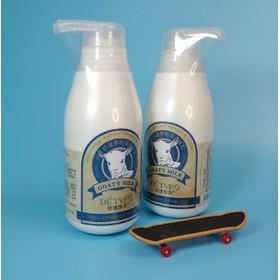 COMBO 2 chai dưỡng thể sữa dê trắng da - DETVFO300ml