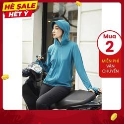 [FREESHIP]Áo khoác chống nắng nữ vải KIM CƯƠNG, hàng VNXK chống tia UV 95%