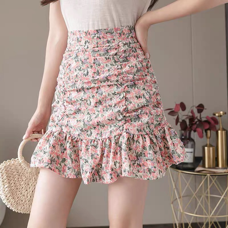 Chân váy hoa nhí, chân váy nhúm CV176 – CV176