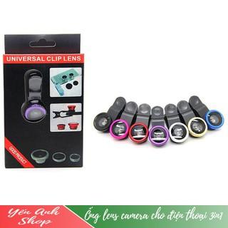 Ống lens camera cho điện thoại 3in1 - Lens thumbnail