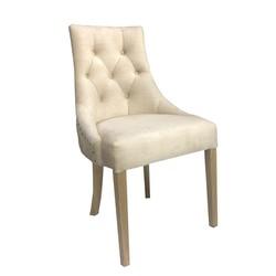 Ghế ăn phong cách tân cổ điển màu kem