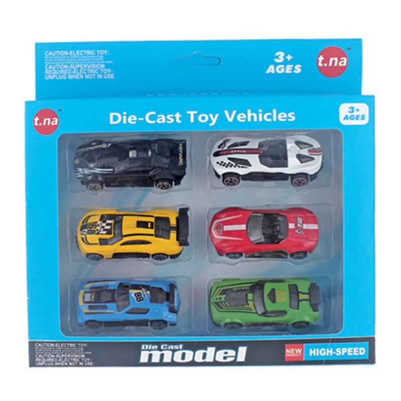 Bộ 6 xe mô hình kim loại (1:64) – Bộ 6 xe mô hình kim loại (1:64)